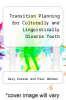 cover of Transition Planning for Culturally and Linguistically Diverse Youth (1st edition)