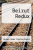 cover of Beirut Redux