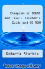 cover of Champion of IDEAS Red Level: Teacher`s Guide and CD-ROM