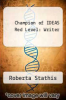 cover of Champion of IDEAS Red Level: Writer