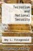 cover of Terrorism and National Security