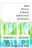 cover of 2008 Harris Indiana Industrial Directory