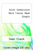 cover of Joint Commission Mock Tracer Made Simple (1st edition)