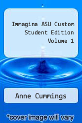 Cover of Immagina ASU Custom Student Edition Volume 1 EDITIONDESC (ISBN 978-1605766829)