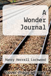 Cover of A Wonder Journal EDITIONDESC (ISBN 978-1606580219)