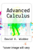 cover of Advanced Calculus