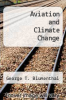 cover of Aviation and Climate Change