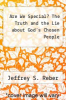 cover of Are We Special? The Truth and the Lie about God`s Chosen People