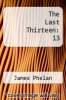 cover of The Last Thirteen: 13