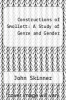 cover of Constructions of Smollett: A Study of Genre and Gender