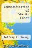 cover of Commodification of Sexual Labor