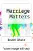cover of Marriage Matters