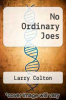 cover of No Ordinary Joes