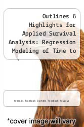 Cover of Outlines & Highlights for Applied Survival Analysis: Regression Modeling of Time to Event Data by David W. Hosmer EDITIONDESC (ISBN 978-1617440205)