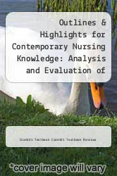 Cover of Outlines & Highlights for Contemporary Nursing Knowledge: Analysis and Evaluation of Nursing Models and Theories by Jacqueline Fawcett EDITIONDESC (ISBN 978-1618122988)