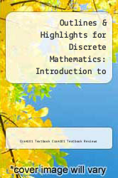 Cover of Outlines & Highlights for Discrete Mathematics: Introduction to Mathematical Reasoning by Susanna S. Epp EDITIONDESC (ISBN 978-1618301284)