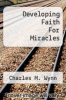 cover of Developing Faith For Miracles