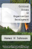 cover of Critical Issues in Organization Development