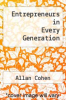 cover of Entrepreneurs in Every Generation (1st edition)