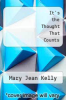 cover of It`s the Thought That Counts