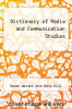 cover of Dictionary of Media and Communication Studies (9th edition)