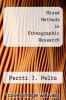 cover of Mixed Methods in Ethnographic Research (1st edition)