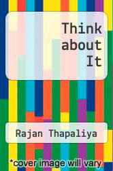 Cover of Think about It EDITIONDESC (ISBN 978-1630044954)