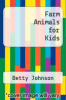 cover of Farm Animals for Kids