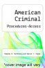 cover of American Criminal Procedures-Access (10th edition)