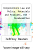 cover of Corporations Law and Policy, Materials and Problems, 8th - CasebookPlus (8th edition)