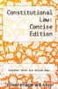 cover of Constitutional Law: Concise Edition (15th edition)