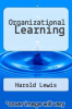 cover of Organizational Learning
