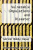 cover of Vulnerable Populations and Disaster