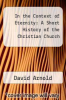 cover of In the Context of Eternity: A Short History of the Christian Church