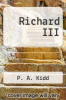 cover of Richard III