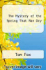 cover of The Mystery of the Spring That Ran Dry