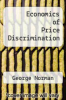 cover of Economics of Price Discrimination