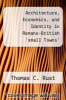 cover of Architecture, Economics, and Identity in Romano-British `small Towns`