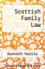 cover of Scottish Family Law (1st edition)