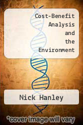 Cover of Cost-Benefit Analysis and the Environment EDITIONDESC (ISBN 978-1852784553)