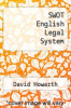 cover of SWOT English Legal System (2nd edition)