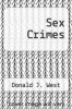 cover of Sex Crimes
