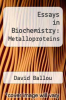 cover of Essays in Biochemistry: Metalloproteins