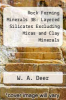 cover of Rock Forming Minerals 3B: Layered Silicates Excluding Micas and Clay Minerals