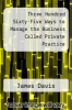 cover of Three Hundred Sixty-Five Ways to Manage the Business Called Private Practice