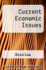 Current Economic Issues by Breslow - ISBN 9781878585387