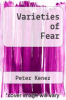 cover of Varieties of Fear