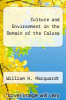 cover of Culture and Environment in the Domain of the Calusa