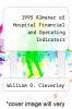 cover of 1995 Almanac of Hospital Financial and Operating Indicators