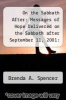 cover of On the Sabbath After: Messages of Hope Delivered on the Sabbath after September 11, 2001: A Tribute to the Victims and Their Families